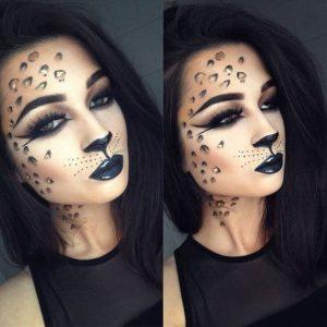 Cele mai interesante idei de machiaj pentru Halloween (fete), Charmy