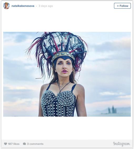Cele mai inedite tinute de la festivalul Burning Man