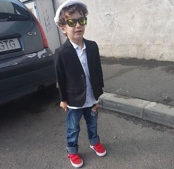 Cum arata copilul lui Mircea Badea (FOTO), Charmy