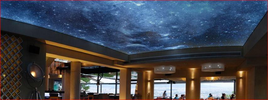 Ce tipuri de corpuri de iluminat poti sa montezi in tavan extensibil, Charmy